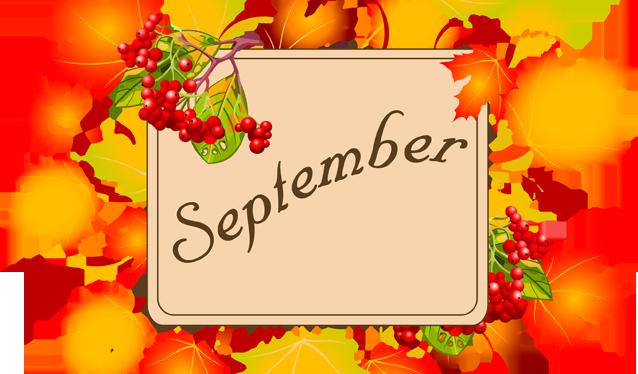 September Meeting, Tomorrow!